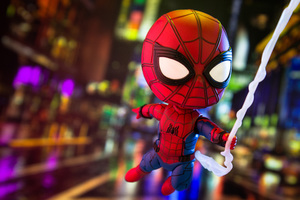 Little Spiderman Photography Wallpaper