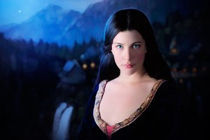 Liv Tyler In The Lord Of Rings Wallpaper