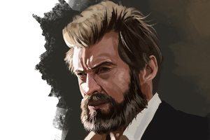 Logan Paint Art Wallpaper