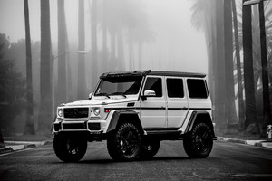Logan Paul Mercedes G Wagon Wallpaper