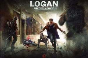 Logan X23 8k Artwork Wallpaper