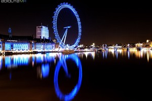 London Eye River Thames Wallpaper