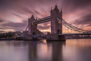 London Thames Tower Bridge Wallpaper