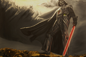 Lord Vader Star Wars Artwork