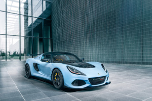 Lotus Exige Sport 410 2018 Front Wallpaper