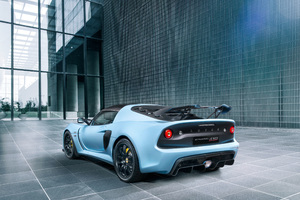 Lotus Exige Sport 410 2018 Rear View Wallpaper