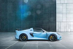Lotus Exige Sport 410 2018 Side View Wallpaper