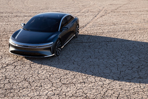 Lucid Air Launch Edition Prototype 2018 4k Wallpaper