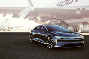 Lucid Air Launch Edition Prototype 2018 Wallpaper