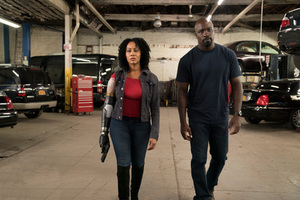 Luke Cage Misty Knight With Bionic Arm