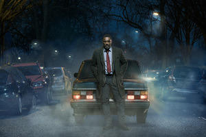 Luther Tv Series Idris Elba Wallpaper