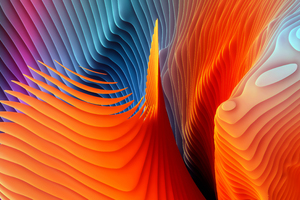 Mac OS Sierra Abstract Shapes