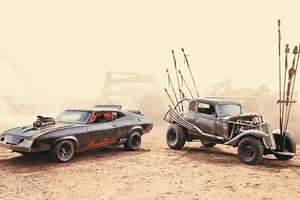 Mad Max Fury Road 5k Cars Wallpaper