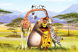 Madagascar 3 Europes Most Wanted Wallpaper