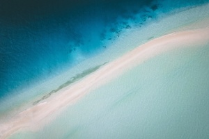 Maldives Island Aerial View 4k Wallpaper