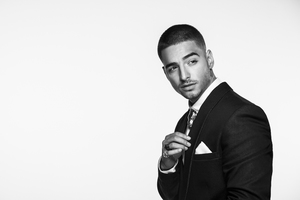 Maluma Monochrome Wallpaper