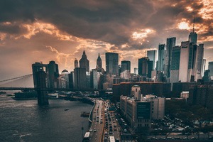 Manhattan New York City 4k