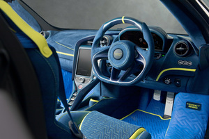 Mansory McLaren 720S Interior Wallpaper