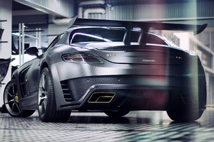 Mansory Mercedes Benz SLS C63 AMG Back View
