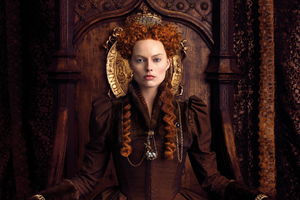Margot Robbie As Elizabeth In Mary Queen Of Scots Movie 5k Wallpaper