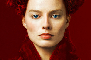 Margot Robbie As Elizabeth In Mary Queen Of Scots Movie Wallpaper