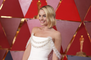 Margot Robbie At Oscars 2018 4k
