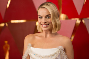 Margot Robbie At Oscars 2018 5k
