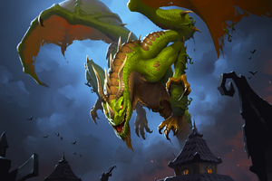 Marsh Drake Hearthstone Heroes Of Warcraft