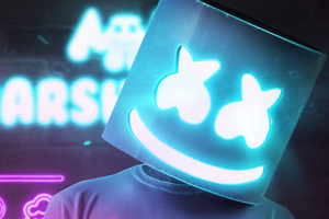 Marshmello 4k 2018 Wallpaper