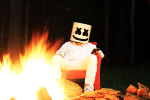 Marshmello 5k Wallpaper