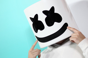 Marshmello DJ 4k Wallpaper