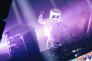 Marshmello Live Performance 4k