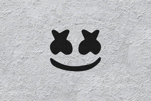 Marshmello Logo 4k Wallpaper