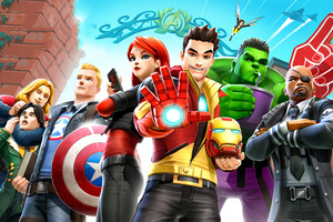 Marvel Avengers Academy Wallpaper