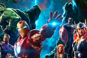 Marvel Avengers Contest Of Champions