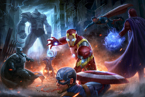 Marvel Avengers Vs Dc Justice League Wallpaper