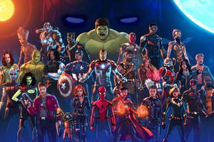Marvel Cinematic Universe Artwork5k Wallpaper