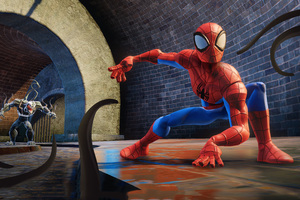 Marvel Disney Infinity Spiderman And Venom Wallpaper