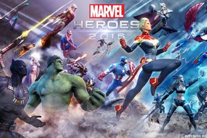 Marvel Heroes 2016 Art