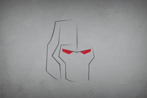 Marvel Heroes Minimalism Wallpaper