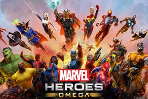 Marvel Heroes Omega Wallpaper