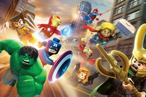Marvel Lego Superheroes Wallpaper