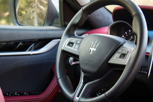 Maserati Levante Interior 2016 Wallpaper