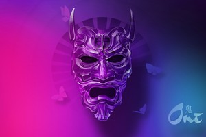 Mask Artistic 5k Wallpaper