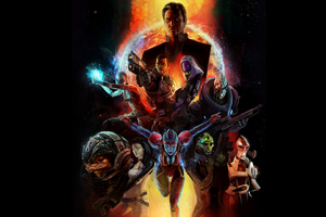 Mass Effect 2 HD Wallpaper