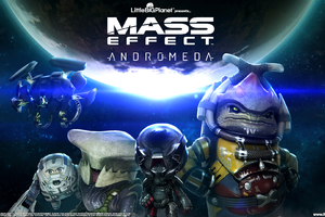Mass Effect Andromeda Little Big Planet 3 Wallpaper