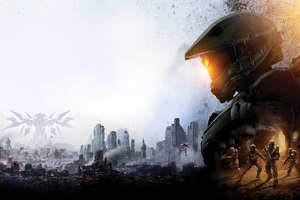 Master Chief Halo 5 8k Wallpaper