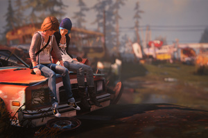 Max And Chloe Life Is Strange Wallpaper