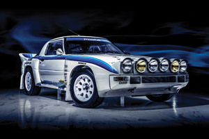 Mazda RX 7 Evo Group B 1985 Wallpaper