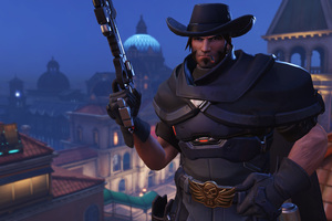 Mccree Overwatch 2018 8k Wallpaper